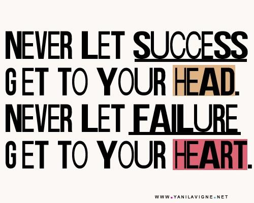 Success V. Failure